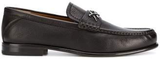 Ermenegildo Zegna pebbled loafers