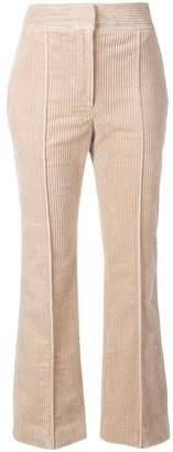 Joseph corduroy flared trousers