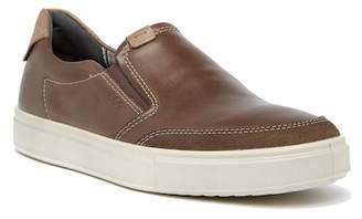 Ecco Kyle Leather Slip-On Sneaker