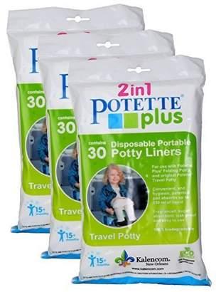 Kalencom Potette Plus Liners, 90 Count by
