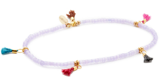 Shashi Lilu Tassel Bracelet $25 thestylecure.com