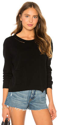 Inhabit Crew Neck Pullover With Pocket