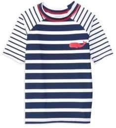 Hatley Little Boy's& Boy's Nautical Stripes Tee