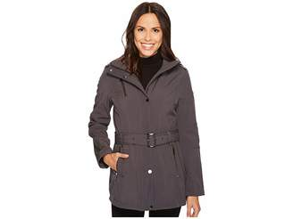 MICHAEL Michael Kors Snap Front Belted Softshell M522207C Women's Coat