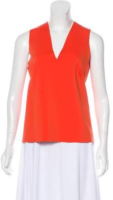J Brand V-Neck Sleeveless Top