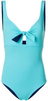 Fisico bow detail swimsuit