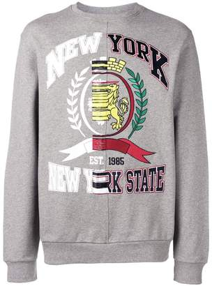Tommy Hilfiger fade-out college sweatshirt
