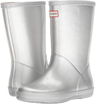 Hunter First Classic Metal Rain Boot Kids Shoes