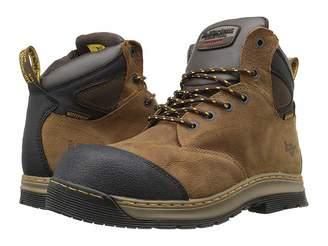 Dr. Martens Deluge Electrical Hazard Waterproof Steel Toe 6-Eye Boot Men's Work Lace-up Boots