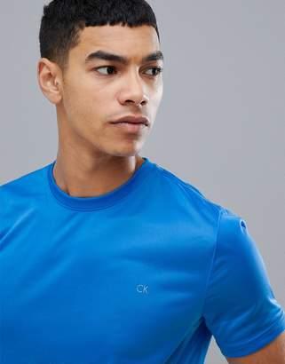Calvin Klein Golf Tech T-Shirt In Blue C9205