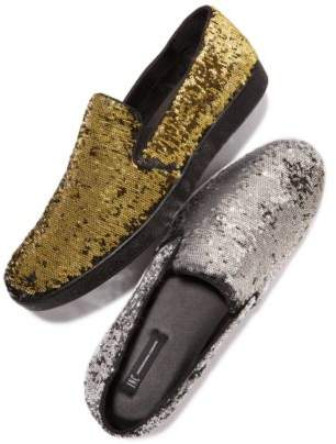 INC International Concepts I.N.C. Men's Flash Sequin Slip-Ons, Created for Macy's
