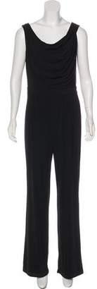 Saks Fifth Avenue Sleeveless Wide-Leg Jumpsuit