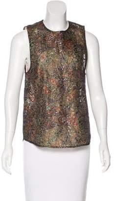 Roseanna Printed Sleeveless Top