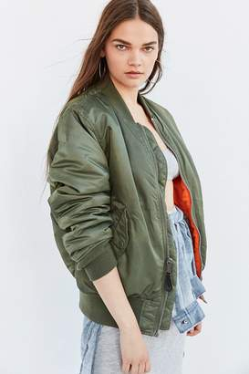 Alpha Industries MA-1 Bomber Jacket $150 thestylecure.com