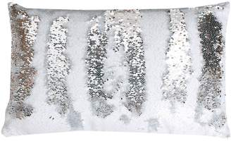 Marlo Lorenz Thro By Thro by Melody Mermaid Sequin Oblong Throw Pillow