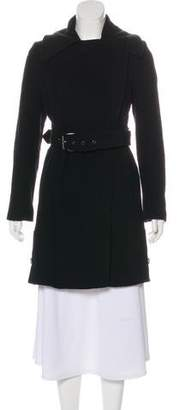 Andrew Marc Knee-Length Wool Coat