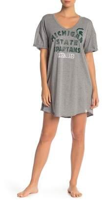 Munki Munki Michigan State Spartans Short Sleeve Sleep Shirt