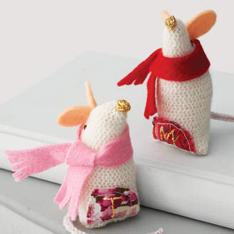 Laura Long Personalised Knitted Christmas Mouse