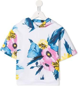 MSGM Kids floral print T-shirt