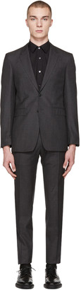 Burberry Grey Millbank Suit $1,395 thestylecure.com