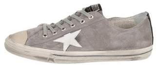 Golden Goose Vstar2 Distressed Sneakers