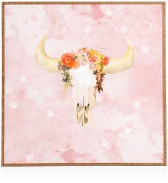 Deny Designs Deny Romantic Boho Buffalo Framed Print, 12 x 12