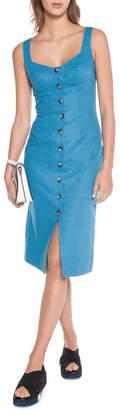 DAY Birger et Mikkelsen Linen Twill Button Front Dress