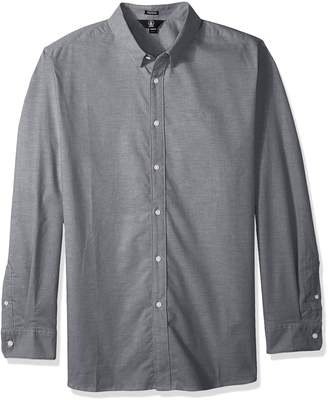 Volcom Men's Oxford Stretch Long Sleeve Button Up Shirt