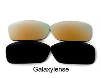 f7d72957a8 Oakley Galaxylense Galaxy Replacement Lenses for Hijinx Black Gold Polarized