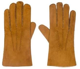 Gucci Vintage Shearling Gloves
