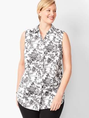 Talbots Perfect Shirt - Sleeveless - Floral