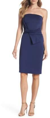 Dorothy Perkins Strapless Tie Front Sheath Dress