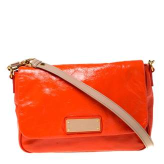 Marc by Marc Jacobs Too Hot to Handle Orange Patent leather Handbags