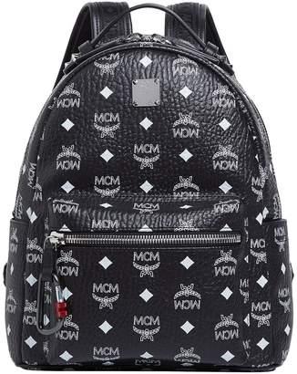 MCM Small Logo Stark Backpack