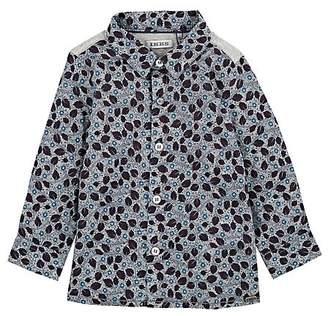 Ikks Infants' Leaf-Print Cotton Shirt