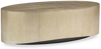 Caracole Whalton Coffee Table - Silver/Gold Leaf