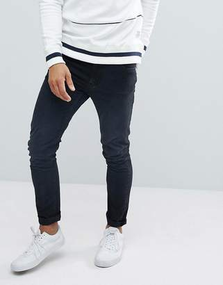 Love Moschino Skinny Fit Jeans With Back Pocket Branding