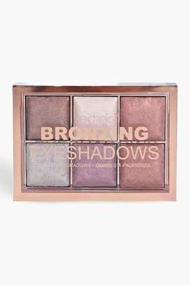 boohoo Technic Bronzing Eyeshadow Palette