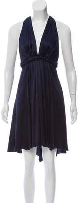 Andrew Gn Pleated Knee-Length Dress