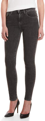 Levi's High Top Black 721 High-Rise Skinny Jeans
