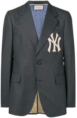 Gucci NY embroided jacket