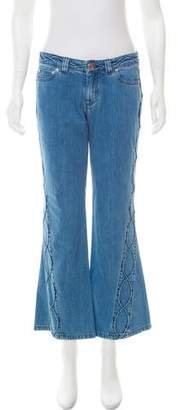 See by Chloe Mid-Rise Flared Jeans w/ Tags