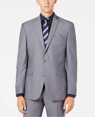 Bar III Men's Slim-Fit Stretch Solid Iridescent Suit Jacket