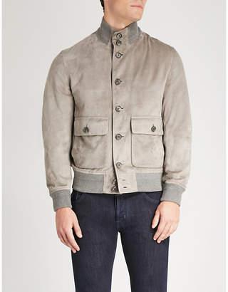 Ralph Lauren Purple Label Hayworth suede jacket