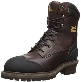 """Chippewa Men's 8"""" Waterproof Insulated Comp Toe EH 55053 Logger Boot"""