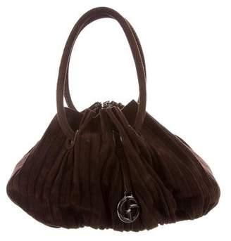 Giorgio Armani Suede Shoulder Bag