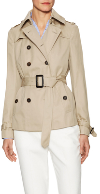 Double Breasted Trench Coat $598 thestylecure.com