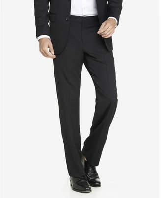 Express classic fit stretch wool blend black suit pant