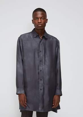 Yohji Yamamoto Uneven Dye Twill Big Shirt