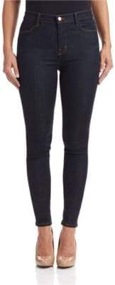J Brand After Dark High-Rise Skinny Jeans